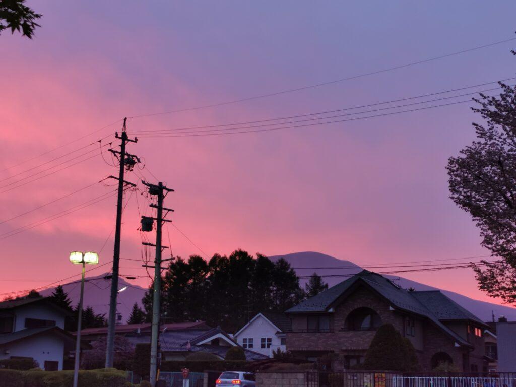 美しい浅間山
